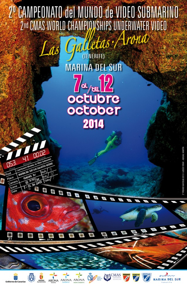 poster worlf championship of underwater video