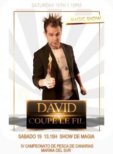 David Coupe Le Fil ACTUACION
