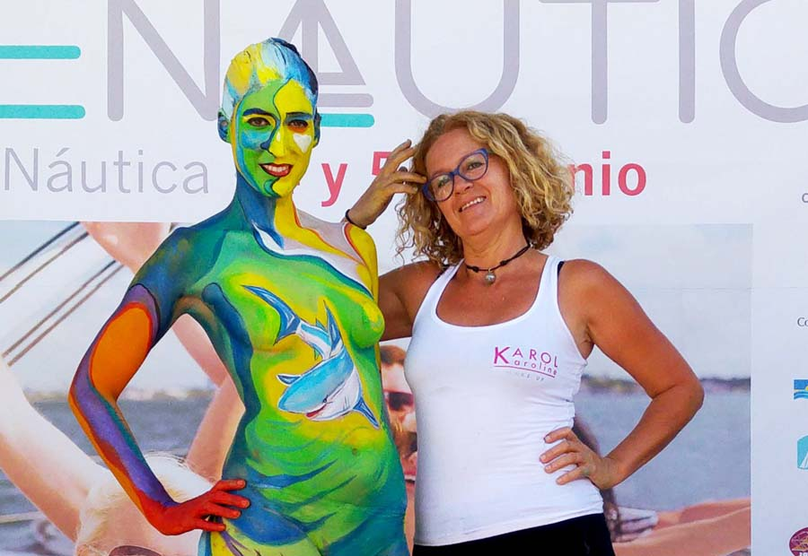 fenautica body-painting