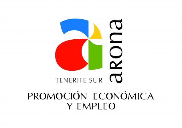 LOGO-Arona-PROMOCIÓN-ECONÓMICA-Y-EMPLEO-CMYK_v.-Vertical